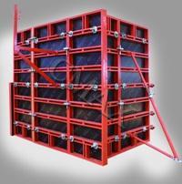 Steel Frame Plywood Formwork Sy